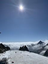Beste Aussichten auf dem Gletscher und er Panoramaterrasse garantiert.