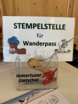 Stempelstelle für den Wanderpass Tux-Finkenberg.