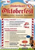 Programm zum Oktoberfest in Hintertux.