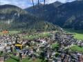 Anfahrt mit der Penkenbahn in Richtung Mayrhofen.